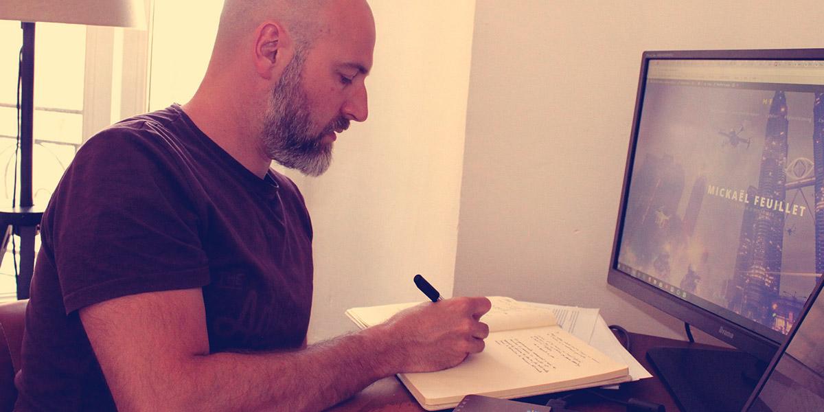 Mickaël Feuillet - auteur autoédité
