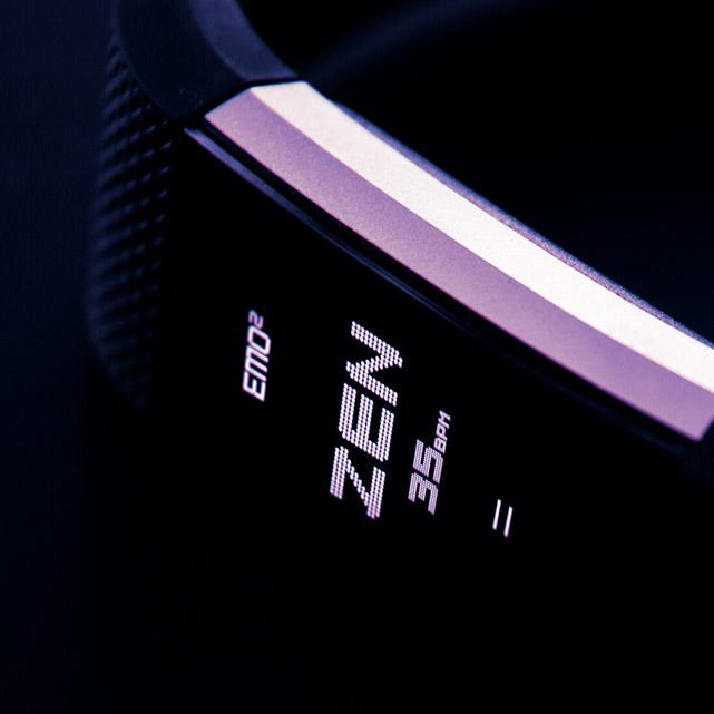 Bracelet EMO2 (image d'illustration)