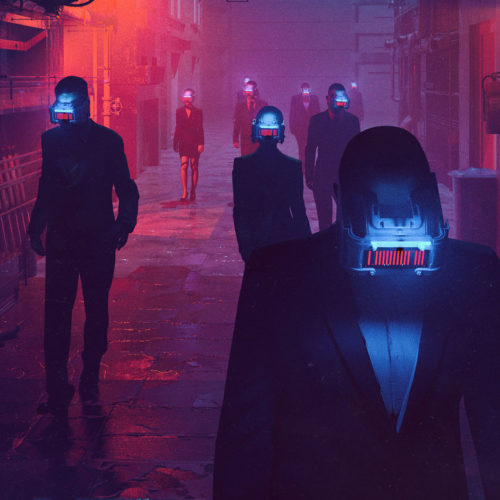 Illustration Cyberpunk de Beeple